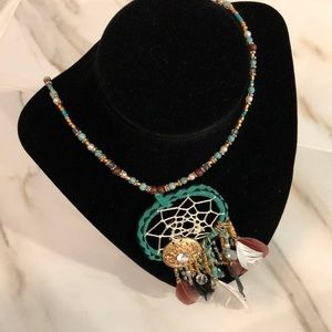 Topshop Dreamcatcher Necklace